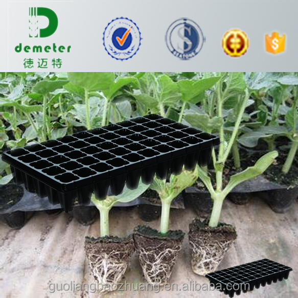 Plastic Seedling Tray Nursery Seed Grow