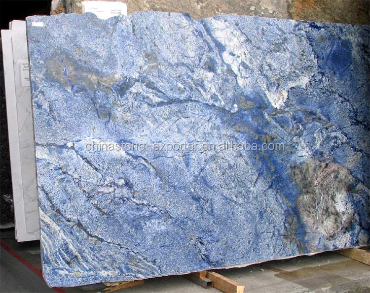 Dark Blue Marble : Brazilian sodalite blue granite slabs buy