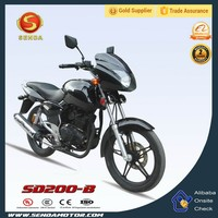 Hot Sale in Middle East & Africa 200cc Street Legal Motorcycle Automatic Motorcycle SD200-B