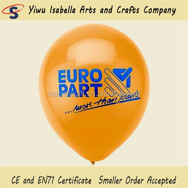 Made In China 12inch Round Shape Non Latex Free Rubber Custom Logo Latex Balloons Personalized For Advertising Promotional Use