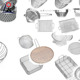 Food grade stainless steel wire mesh strainer colander sieve/round basket filter screen