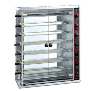Commercial big chicken Rotisserie /gas duck oven with price