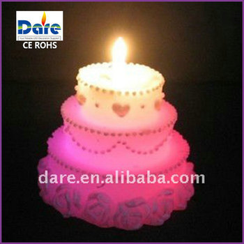 Led Color Changing Animated Birthday Candles
