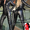 Hot Sale Cheap Sexy Black Latex Catsuit