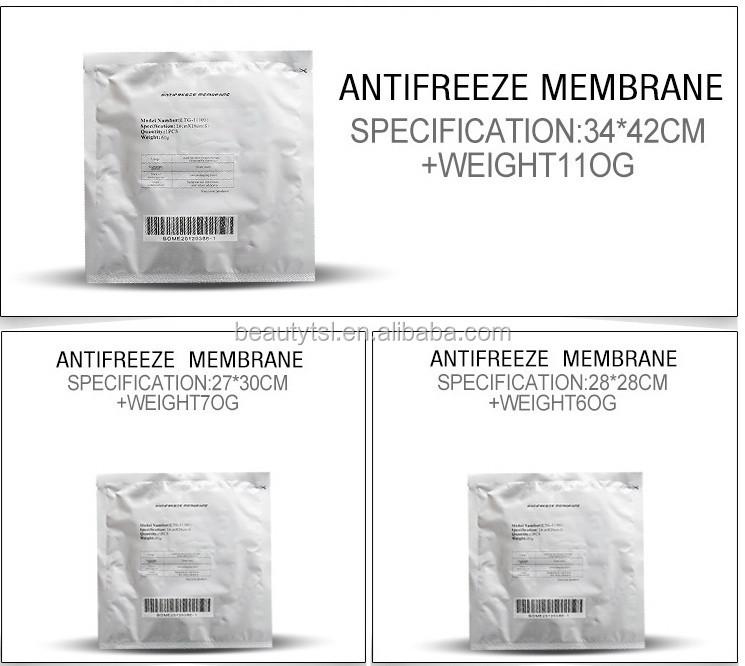 ETG50-4S white color freezefats cool cryolipolysis body sculpting fat freezing machine