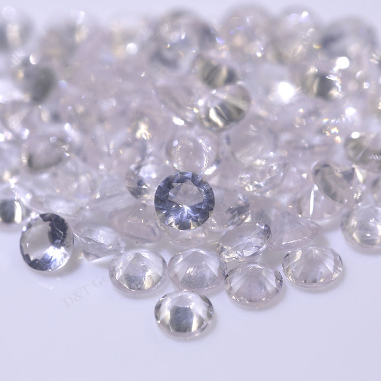 natural gemstones china 2.0mm aquamarine stone wholesale loose gemstones