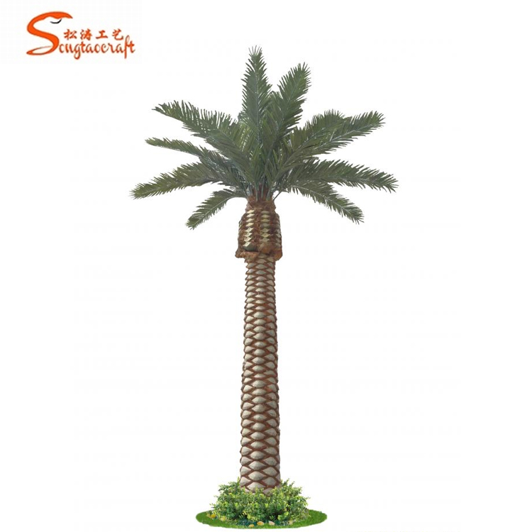 China Factory Miniature Plastic Palm Tree Low Price For Artificial Trees Lowes