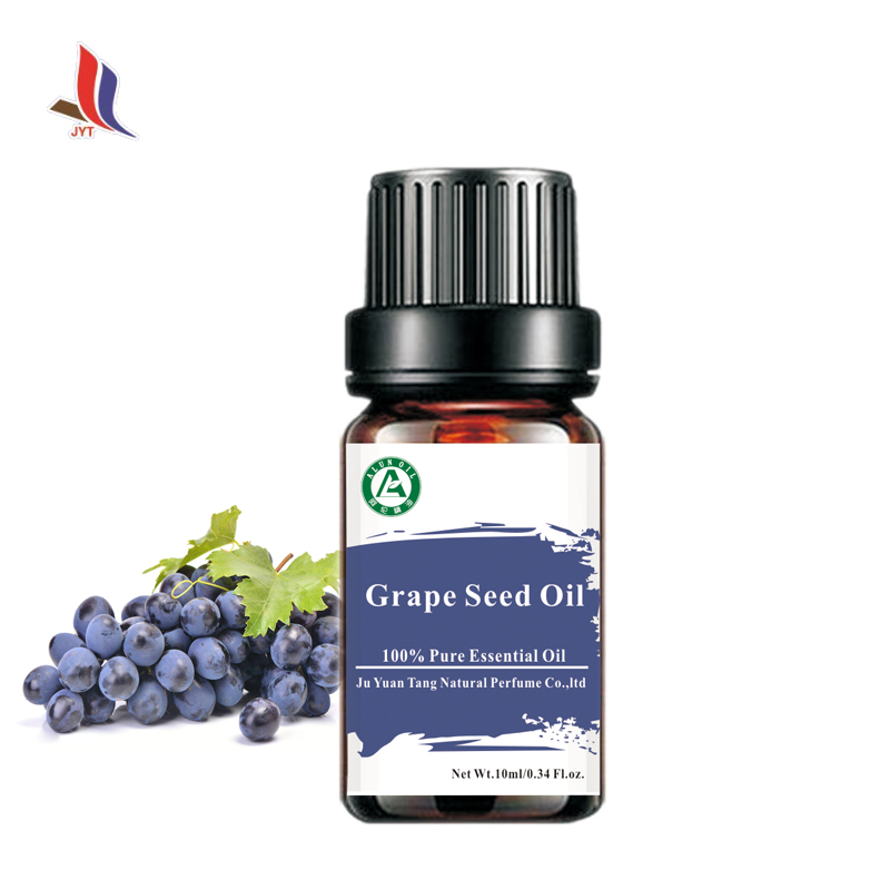 JXJYT manufacturer best price cosmetic grade Grape Seed Oil organic