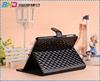 For ipad mini Stand Lattice Diamond Pattern Leather Flip Case For iPad Mini