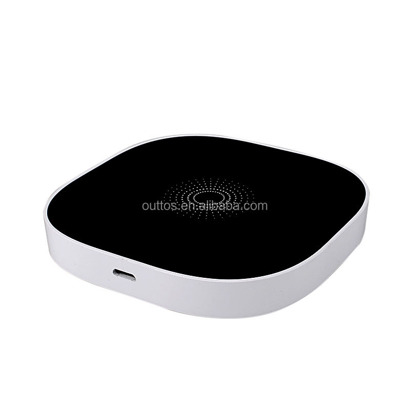 new fashion thin qi standard wireless charger for samsung s4 s5 s6 iphone 5s 6 6s mobile