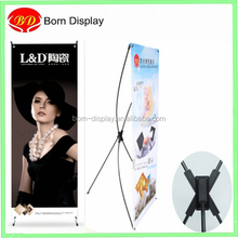 New simple design 60*160cm portable folded x-stand