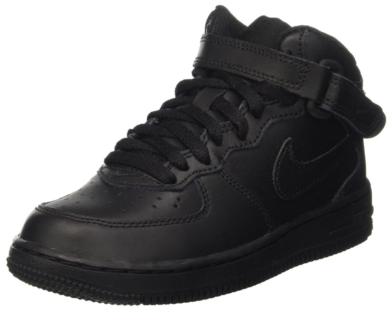 timeless design b9801 b16a9 Nike Boy s Air Force 1 Mid Basketball Shoes