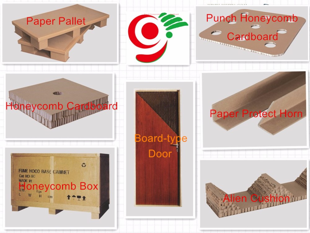 red paper tray paper tray2 way 4 way paper honeycomb core pallet with high