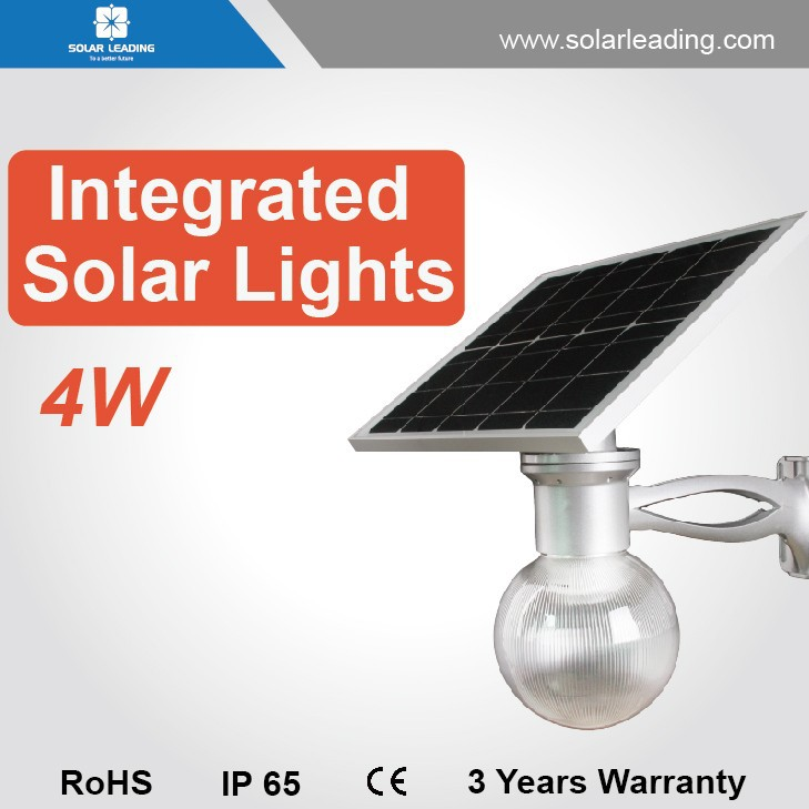 Integrated solar led street light ul certified