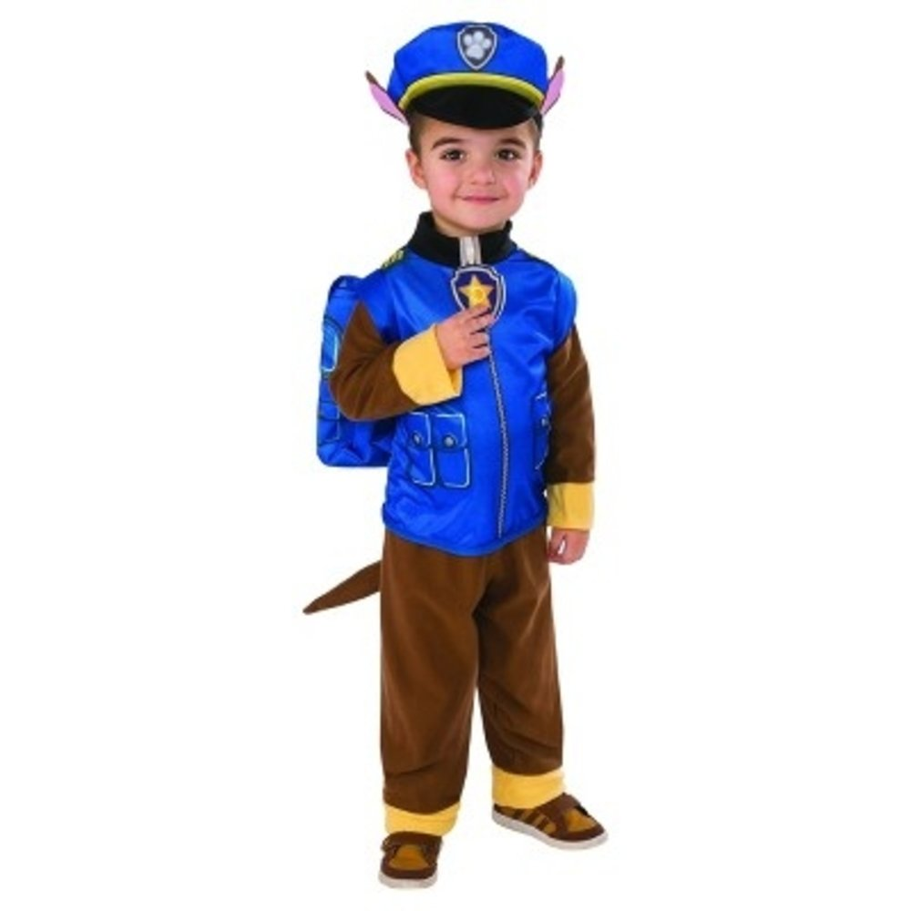 get quotations paw patrol chase costume toddler 2t 3t police officer puppy cute halloween play