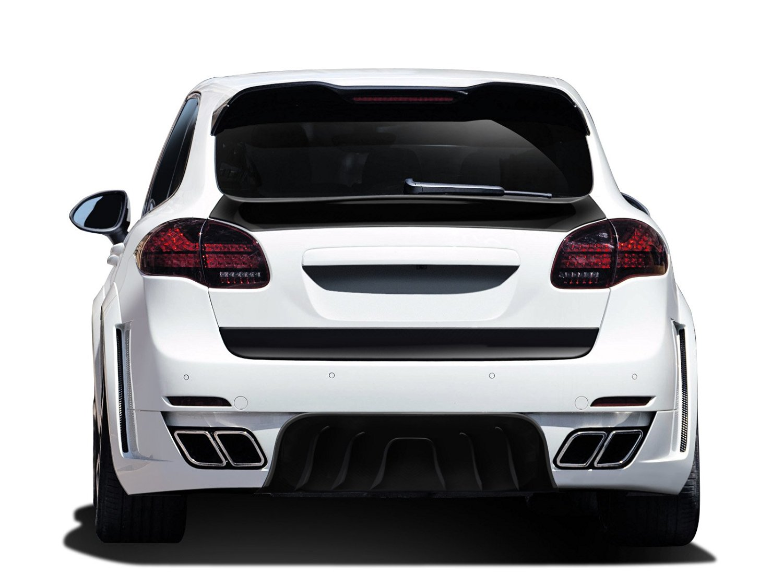 2011-2014 Porsche Cayenne AF-4 Wide Body Rear Bumper Cover ( GFK ) - 1 Piece