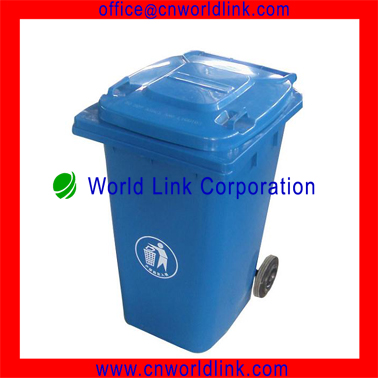 Big volum public wheel plastic Rubbish Bin