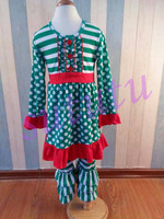 Persnickety super fashion wholesale toddler sets christmas tree smocked holiday children clothing name brand cheap price clothes