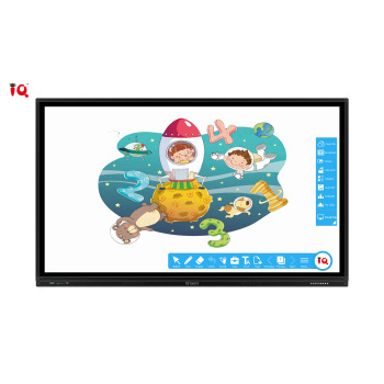 55 65 75 86 98inch touch screen led display board finger touch screen interactive touchscreen smart tv