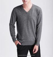 Fashion Wool Knit V Neck Men Sweater Men's Pullover Sweater