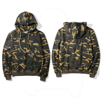 Custom Long Sleeves 100% Cotton Blank Oversized Camo Hoodies Mens ... e93b1bb185b