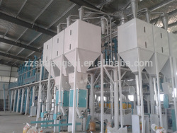 100 Tons Per Day Ragi Flour Processing Machine Ragi Flour Mill Plant