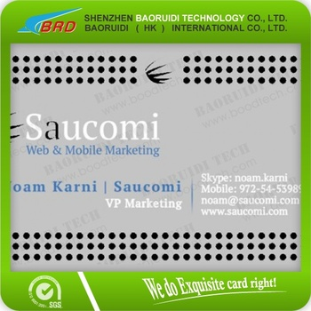 stainless steel metal business cards - Metal Business Cards