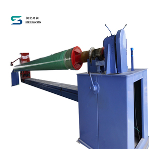 FRP GRP pipe line hydrostatic winding equipment