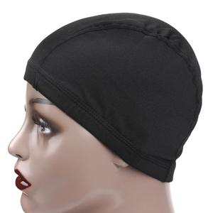 fedd174b978 AliLeader Black Color Dome Cap Wig Wholesale Price Spandex Wig Cap For  Making Wigs