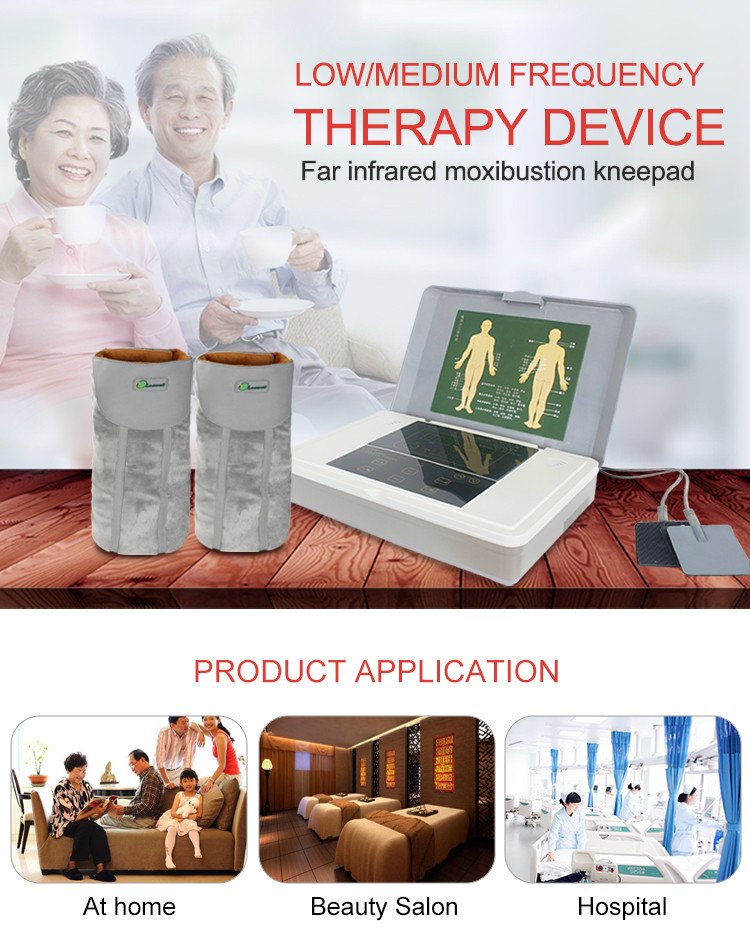CE approved Chinese manufacturer wholesale price osteoarthritis lumbar pain low/medium frequency treatment medical device