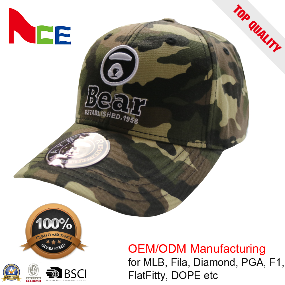 Custom mens camo 3d embroidered baseball hats and caps Fashion camo hat and  cap camouflage flat brim hats camo hat 25e3af4b13f