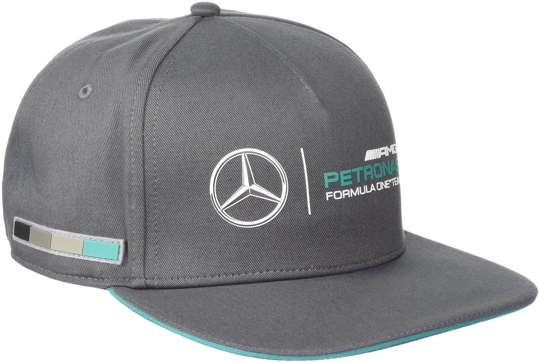 Buy Mercedes Benz Petronas AMG Formula 1 Gray Classic Hat Cap w Team ... c7a58914778
