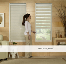 2017 popular Eco-Friendly vertical horizontal home decoration Manual & Motorized control zebra roller fabric blinds window