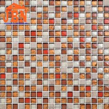 Foshan Crystal Mix Mosaic Tile Wallpaper Designs