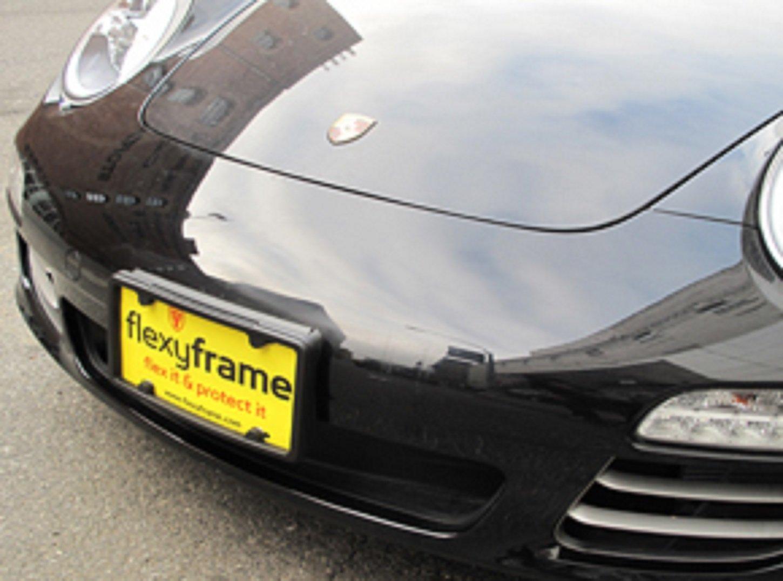 A NASA-like Rubber License Plate Bracket Frame Holder Guard Bumper for TOYOTA
