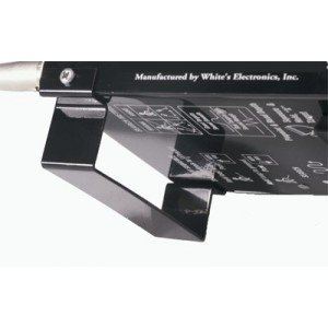 Whites Detector Stand for DFX, XLT, MXT, and M6 Metal Detectors.
