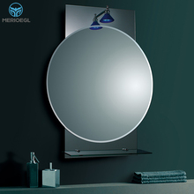 MERIOEGL China Factory Big Round Wall Vintage Mirror Decorative Mirror For Living Room