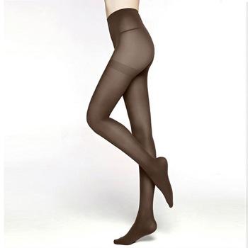 9a34a9acc Colorful Women nylon feet tube pantyhose 80 Denier Semi Opaque Tights