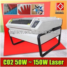 Laser Two Heads Cutter for Fabric Applique Label Leather