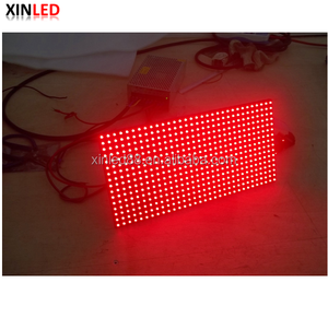High brightness red color message p10 led module 320*160mm hub12