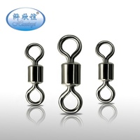 In stock wholesale high quality brass rolling swivels fishing tackle accessories for carp fishing