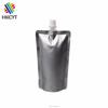 Premium Pure Aluminum Foil Spout Pouch for Dishwasher Shampoos and Detergents Packaging