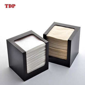 Wholesale Fashional Restaurant Rectangle Acrylic Tissue Box Napkin Holder