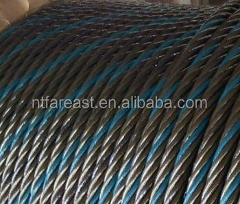 Anti Fake Label Of Blue Strand With Steel Wire Rope