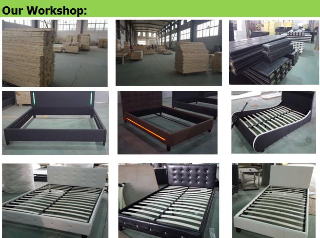 83ea05a670df Sleeping Bed Design,Modern Platform Bed With Led Light - Buy Modern ...