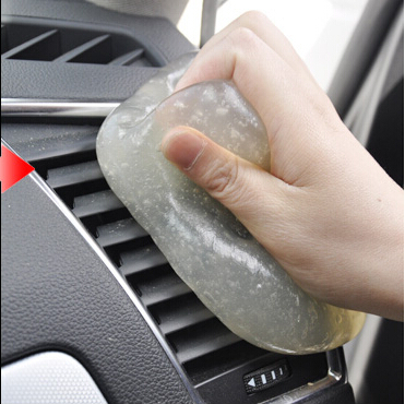 Magic universal supple glue auto car clean glue gum gel - Cleaning the interior of your car ...