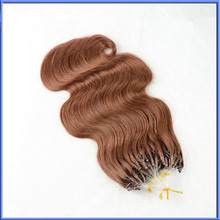 full cuticle indian virgin remy hair micro-ring hair extension