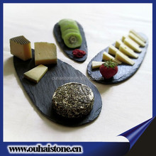 Superb quality all sorts of dinner ware natural stone cheese board oval slate plates