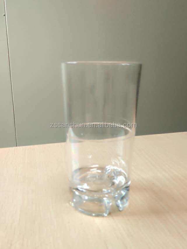 250ml Plastic PC Beer Cup for water drinking