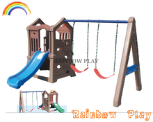 colourfastness children preschool indoor and outdoor swing slide and manufacturers